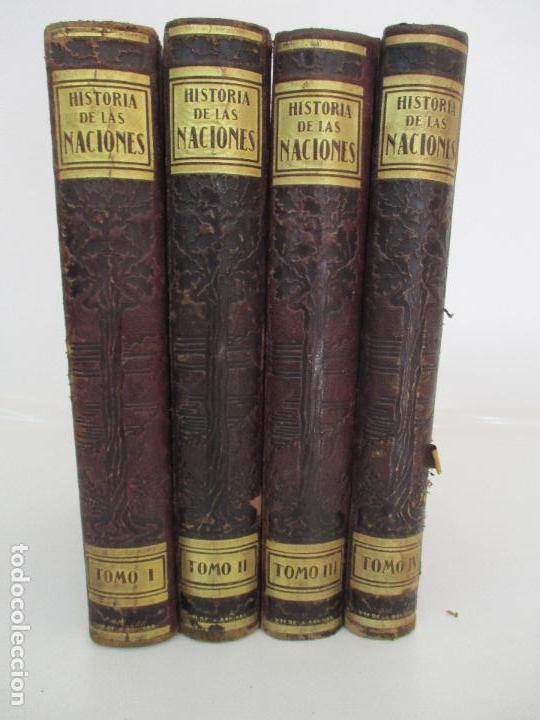 HISTORIA DE LAS NACIONES - GUILLERMO DE BOLADERES IBERN - 4 TOMOS - COMPLETA - ED SEGUI - AÑOS 20 (Libros de Segunda Mano - Historia Moderna)