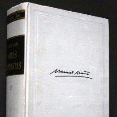 Libros de segunda mano: MANUEL AZAÑA - OBRAS COMPLETAS - TOMO III - MÉXICO - 1967 - PRIMERA EDICIÓN. Lote 90787890