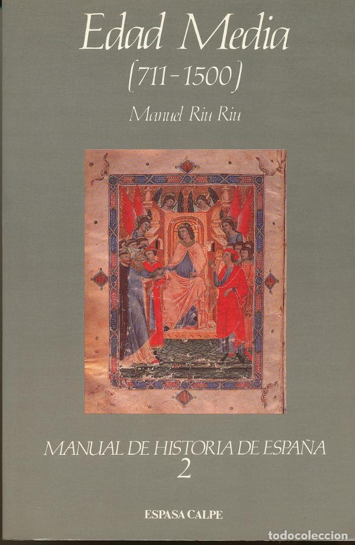 Manuel Riu Riu  Edad Media  711-1500  Manual De