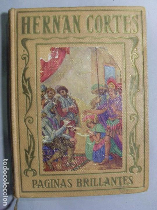 HERNÁN CORTÉS - HISTORIA DE LA CONQUISTA DE MÉJICO / ANTONIO DE SOLÍS / 1943 (Libros de Segunda Mano - Historia Moderna)