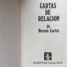 Libros de segunda mano - Cartas de relación. Hernán Cortés - 90932959