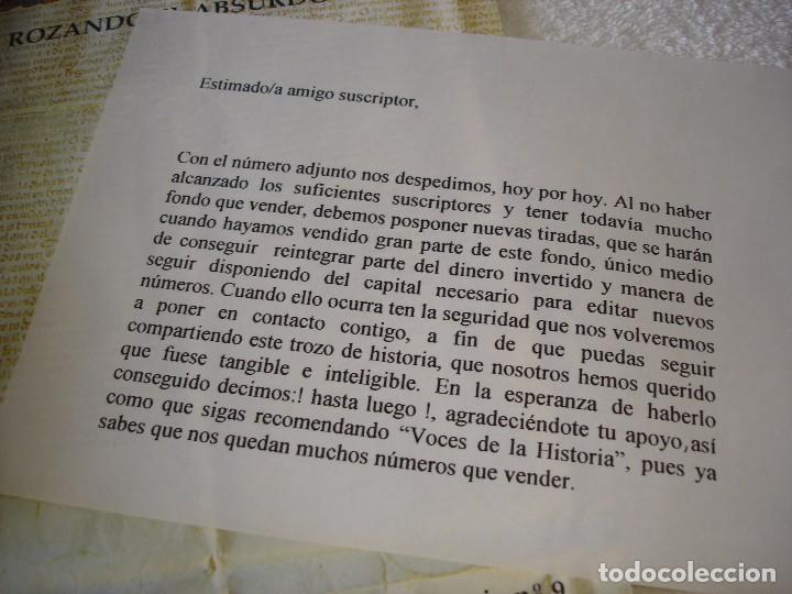 Libros de segunda mano: VOCES DE LA HISTORIA: 9 NUMEROS (TODOS LOS PUBLICADOS) - ARCHIVO DE LA CASA DE MEDINA SIDONIA - Foto 2 - 90968450