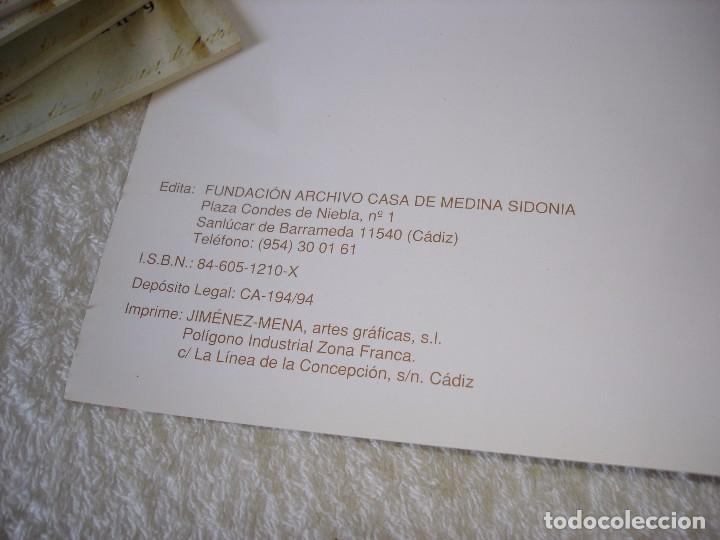 Libros de segunda mano: VOCES DE LA HISTORIA: 9 NUMEROS (TODOS LOS PUBLICADOS) - ARCHIVO DE LA CASA DE MEDINA SIDONIA - Foto 6 - 90968450