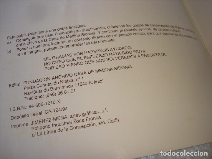 Libros de segunda mano: VOCES DE LA HISTORIA: 9 NUMEROS (TODOS LOS PUBLICADOS) - ARCHIVO DE LA CASA DE MEDINA SIDONIA - Foto 15 - 90968450