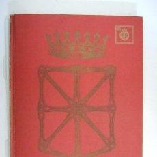 Libros de segunda mano: ATLAS DE NAVARRA - GEOGRAFICO ECONOMICO HISTORICO - 1977 - 76 PAGINAS - TAPAS DURAS. Lote 91119375