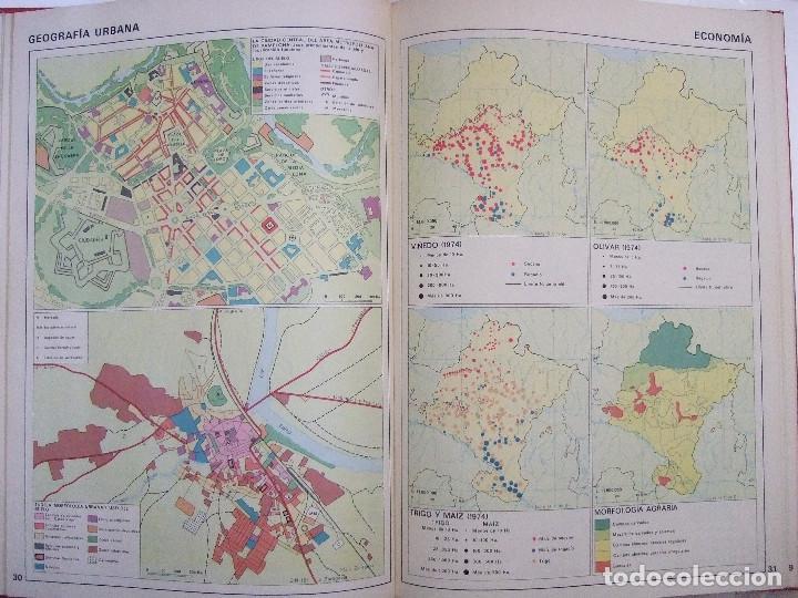 Libros de segunda mano: ATLAS DE NAVARRA - GEOGRAFICO ECONOMICO HISTORICO - 1977 - 76 PAGINAS - TAPAS DURAS - Foto 2 - 91119375