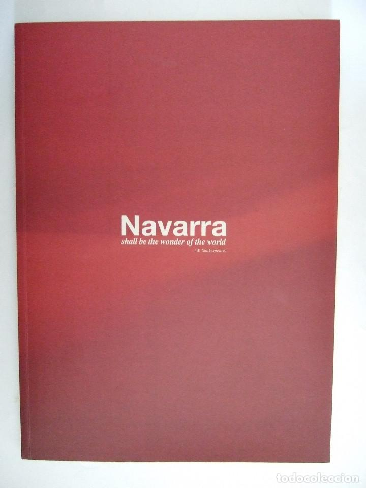 NAVARRA SERA EL ASOMBRO DEL MUNDO - INGLES Y CASTELLANO - SODENA - ESTUDIOS ECONOMICOS (Libros de Segunda Mano - Historia Moderna)