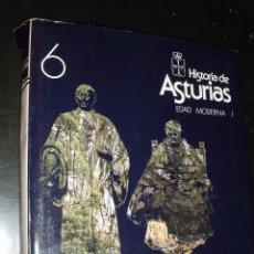 Libros de segunda mano: LIBRO HISTORIA DE ASTURIAS ALTA EDAD MODERNA I TOMO 6. Lote 91687580