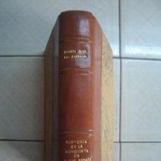 Libros de segunda mano: HISTORIA DE LA CONQUISTA DE LA NUEVA ESPAÑA. BERNAL DÍAZ. PORRÚA, 1976. ENCUADERNADO EN PIEL. Lote 92054635
