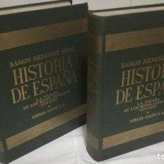 Libros de segunda mano: LA ESPAÑA DE LOS REYES CATOLICOS, RAMON MENENDEZ PIDAL, 2 TOMOS,1969. Lote 93626125