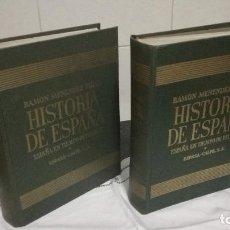 Libros de segunda mano: ESPAÑA EN TIEMPOS DE FELIPE II, RAMON MENENDEZ PIDAL, 2 TOMOS,1966. Lote 93626360