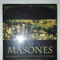 Libros de segunda mano: LOS MASONES.JASPER RIDLEY. Lote 93709960
