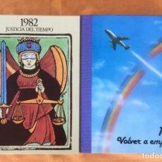 Libros de segunda mano: JUSTICIA DEL TIEMPO 2 TOMOS 1983 1982 VOLVER A EMPEZAR 2 POSTER 2 DISCOS DIFUSORA INTERNACIONAL. Lote 94427714
