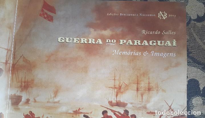 Libros de segunda mano: GUERRA DO PARAGUAI - RICARDO SALES - Foto 3 - 94632079