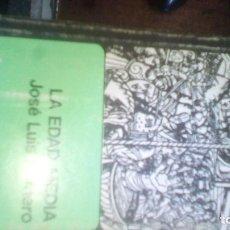 Libros de segunda mano: LA EDAD MEDIA - JOSE LUIS ROMERO - BREVIARIOS DEL FONDO DE CULTURA ECONOMICA. MEXICO. Lote 95104691