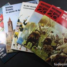 Libros de segunda mano: TAPAS DE LOS 100 FASCICULOS HISTORIA MUNDIAL DEL SIGLO 20,VERGARA 1971 CRONOLOGIA Y ALBUM RECORTES. Lote 95301527