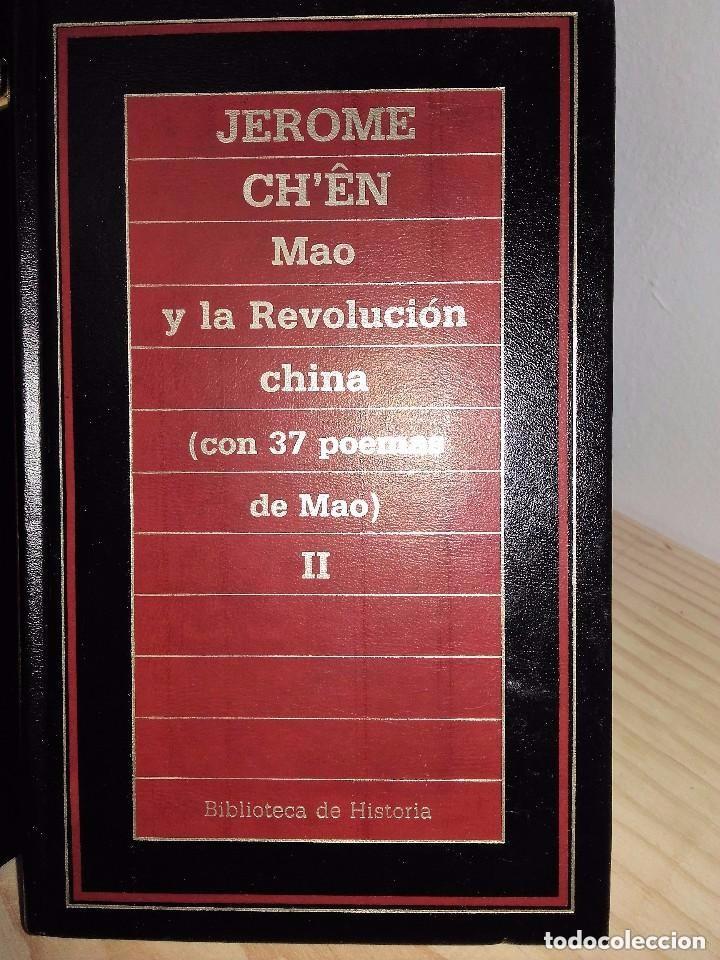 Libros de segunda mano: Mao y la revolución china * Jerome Ch'ên, (2 VOLÚMENES) - Foto 2 - 96092387