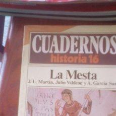 Libros de segunda mano: CUADERNOS HISTORIA 16, Nº 7 LA MESTA. Lote 96224499