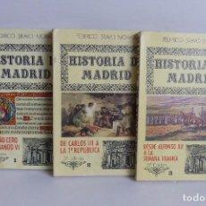 Libros de segunda mano: HISTORIA DE MADRID - 3 TOMOS - FEDERICO BRAVO MORATA. Lote 97729783