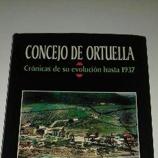 Libros de segunda mano: CONCEJO DE ORTUELLA CRONICAS DE SU EVOLUCION HASTA 1937 FOTOGRAFIA ANTIGUA ETNOGRAFIA PAIS VASCO . Lote 97815058