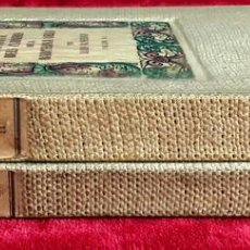 Libros de segunda mano: HISTÒRIA DELS CARRES DE LA BARCELONA VELLA. 2 TOMOS. L. ALMERICH. EDIT. MILLÀ. 1949/50.. Lote 97905283