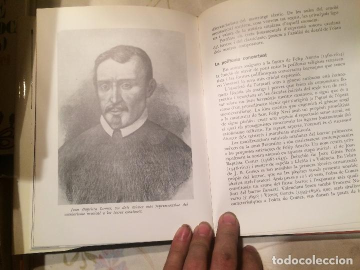 Libros de segunda mano: Antiguo libro història de la música Catalana escrito por Manuel Valls Gorina año 1969 - Foto 4 - 98225199