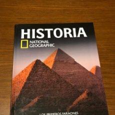 Libros de segunda mano: HISTORIA LOS PRIMEROS FARAONES NATIONAL GEOGRAFIC. Lote 98630331