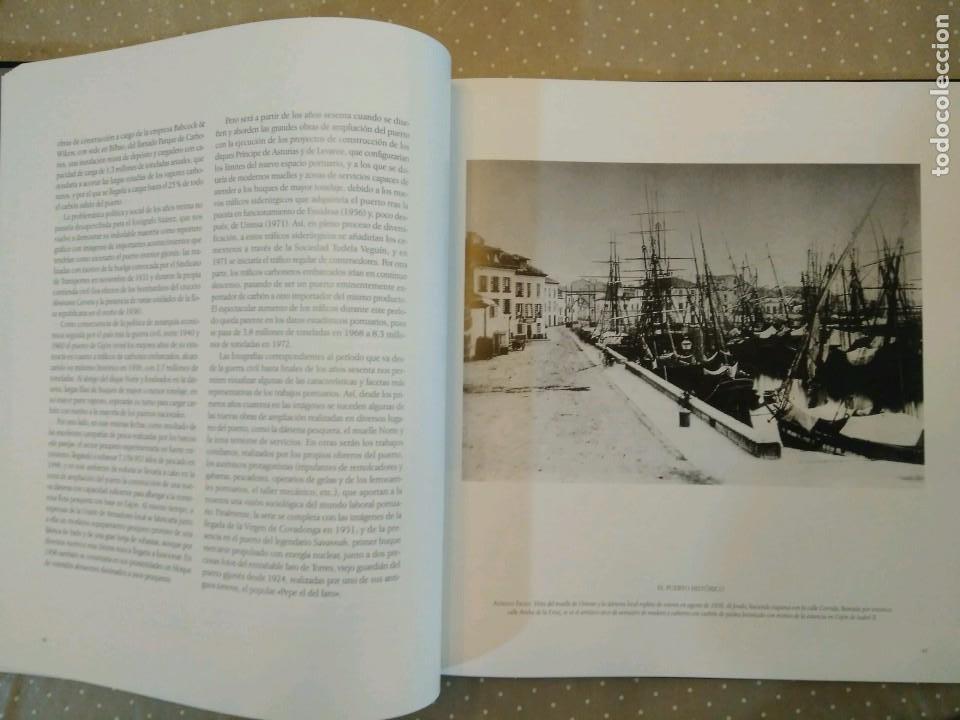 Libros de segunda mano: GIJON VISION Y MEMORIA PORTUARIA/ CON ESTUCHE - Foto 3 - 74249635