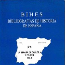 Libros de segunda mano - LA ESPAÑA DE CARLOS V Y FELIPE II VOL. II (CINDOC 1999) SIN USAR - 99083003