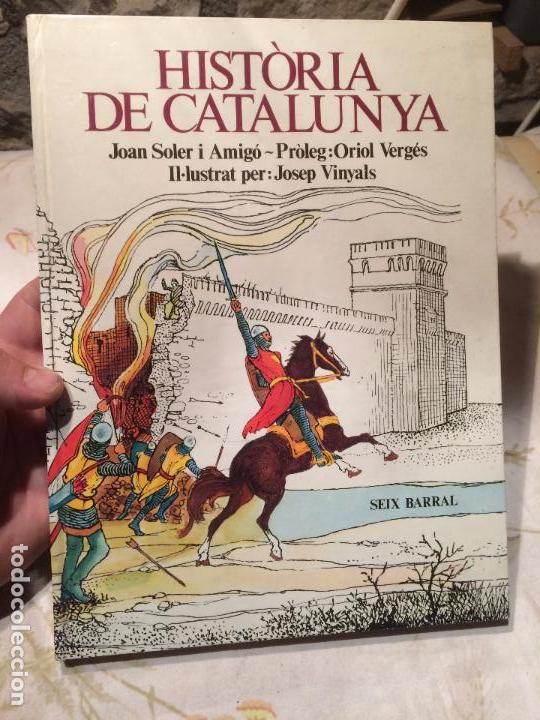 ANTIGUO LIBRO HISTÒRIA DE CATALUNYA ESCRITO POR JOAN SOLER I AMIGÓ AÑO 1978 (Libros de Segunda Mano - Historia Moderna)