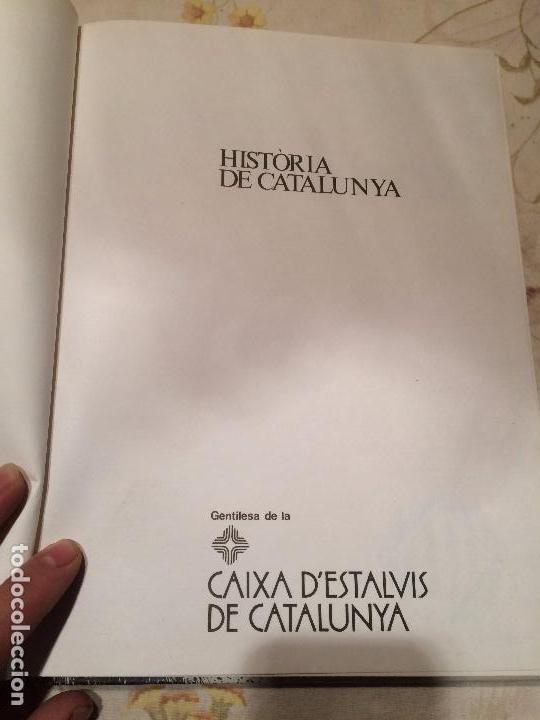 Libros de segunda mano: Antiguo libro Història de Catalunya escrito por Joan Soler i Amigó año 1978 - Foto 2 - 99228847