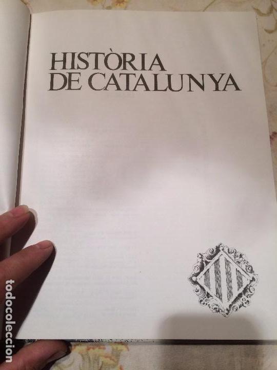Libros de segunda mano: Antiguo libro Història de Catalunya escrito por Joan Soler i Amigó año 1978 - Foto 3 - 99228847