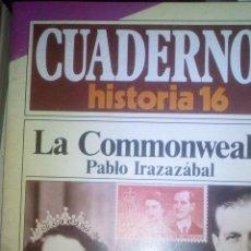 Libros de segunda mano: CUADERNOS HISTORIA 16 203. LA COMMENWEALTH. Lote 99495223