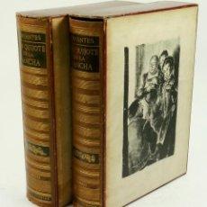 Libros de segunda mano: DON QUIJOTE DE LA MANCHA, CERVANTES, 1958, ED. JUVENTUD. 20X25,7CM. Lote 99510815