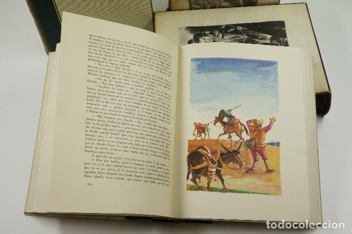 Libros de segunda mano: DON QUIJOTE DE LA MANCHA, CERVANTES, 1958, ED. JUVENTUD. 20x25,7cm - Foto 6 - 99510815