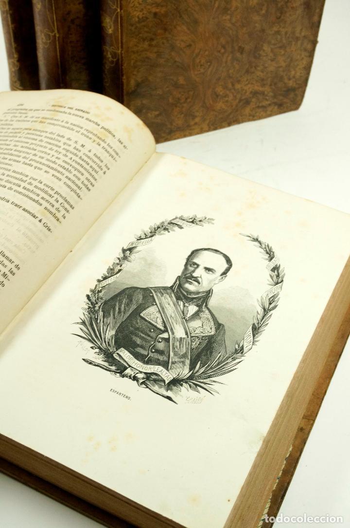 Libros de segunda mano: HISTORIA DEL REINADO DEL ULTIMO BORBON DE ESPAÑA, 4.vol, F.GARRIDO, 1868, ED. S. MANERO. 19x27cm - Foto 3 - 99616331