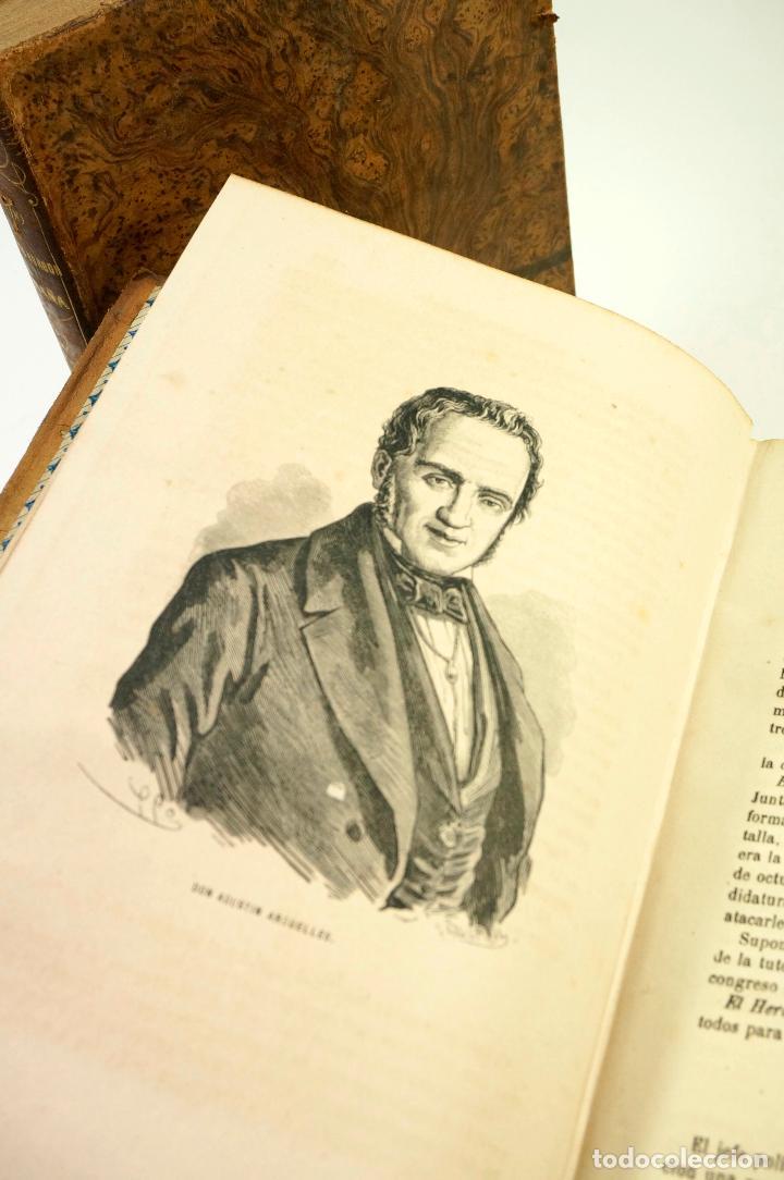 Libros de segunda mano: HISTORIA DEL REINADO DEL ULTIMO BORBON DE ESPAÑA, 4.vol, F.GARRIDO, 1868, ED. S. MANERO. 19x27cm - Foto 4 - 99616331