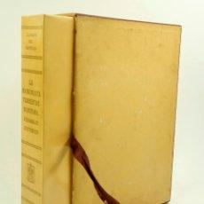 Libros de segunda mano: LA MAQUINISTA TERRESTRE MARITIMA, ALBERTO DEL CASTILLO, 1955, ED.SEIX BARRAL. 29X21CM. Lote 99642135