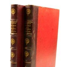 Libros de segunda mano: BELLEZAS DE LA HISTORIA DE CATALUÑA, 2.VOL, 1853, VICTOR BALAGUER. 20X28CM. Lote 99644947