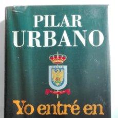 Libros de segunda mano: YO ENTRE EN EL CESID.PRIMERA EDICIÓN.PILAR URBANO. Lote 102113811