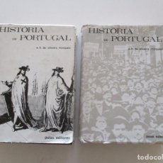 Libros de segunda mano: A. H. DE OLIVEIRA MARQUES. HISTÓRIA DE PORTUGAL I Y II. DOS TOMOS. RM84317. . Lote 102666523