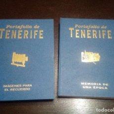 Libros de segunda mano: PORTAFOLIO DE TENERIFE - MEMORIA DE UNA ÉPOCA - IMÁGENES PARA EL RECUERDO. Lote 103803703