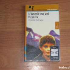 Libros de segunda mano: L'ASIMIR NO VOL FUSELLS - CHRISTOBEL MATTINGLEY - ALFAGUARA - TC -. Lote 104181875