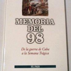Libros de segunda mano: MEMORIA DEL 98 - EL PAÍS. 1996.. Lote 104531279