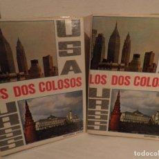 Libros de segunda mano: USA-URSS. LOS DOS COLOSOS . EN CICLOPEDIA COMPARADA USA-URSS. 2 VOLS. 1969-EDIT ARGOS. Lote 104745987