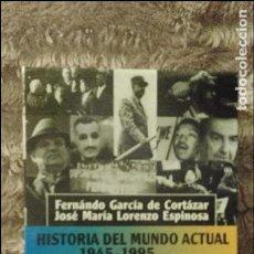 Libros de segunda mano: HISTORIA DEL MUNDO ACTUAL, ALIANZA EDITORIAL. Lote 104784919