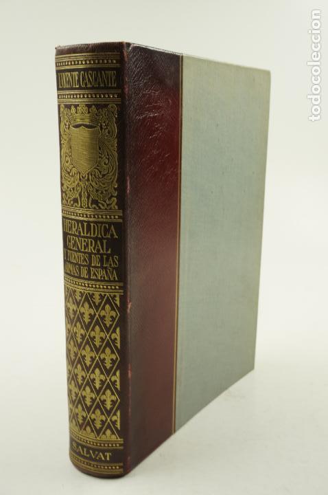 HERÁLDICA GENERAL Y FUENTES DE LAS ARMAS DE ESPAÑA, IGNACIO VICENTE, 1956, SALVAT ED.19,5X27CM (Libros de Segunda Mano - Historia Moderna)
