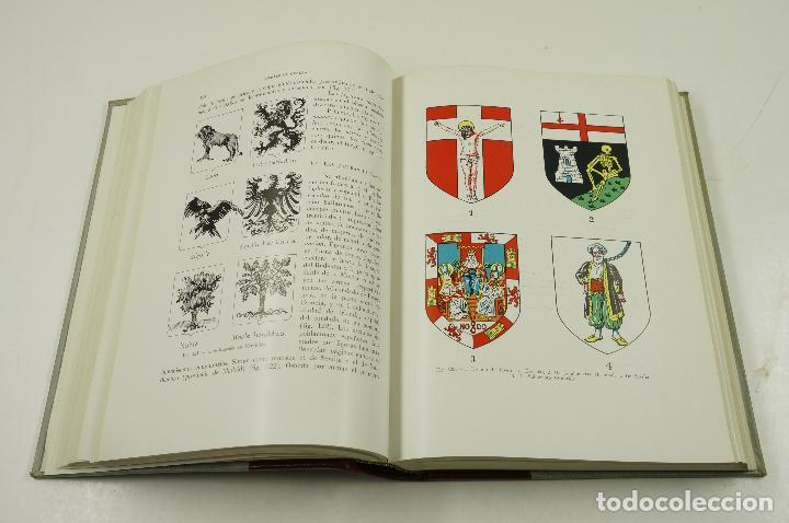 Libros de segunda mano: Heráldica general y fuentes de las armas de España, Ignacio Vicente, 1956, Salvat ed.19,5x27cm - Foto 3 - 105876551