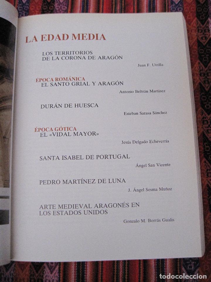 Libros de segunda mano: ARAGON EN EL MUNDO. - Foto 3 - 107530311