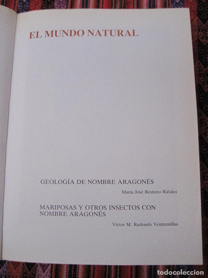 Libros de segunda mano: ARAGON EN EL MUNDO. - Foto 5 - 107530311